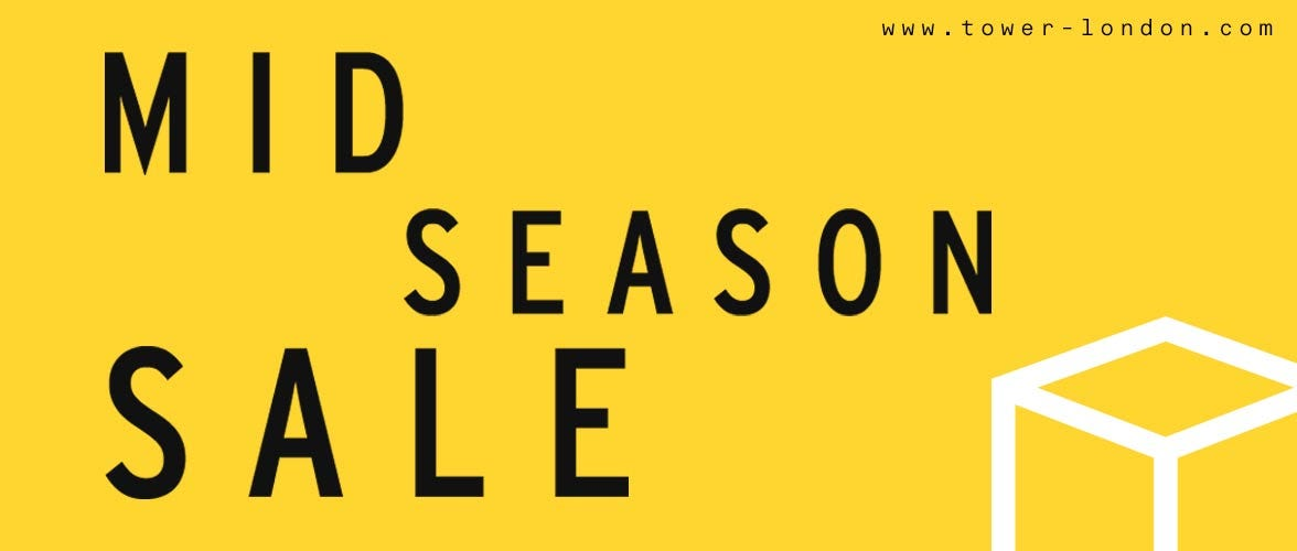 Shop the TOWER London Mid Season Sale