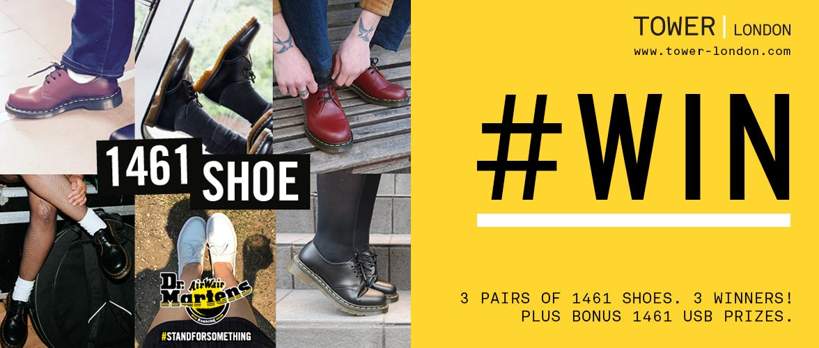 Win Dr. Martens 1461 Shoes