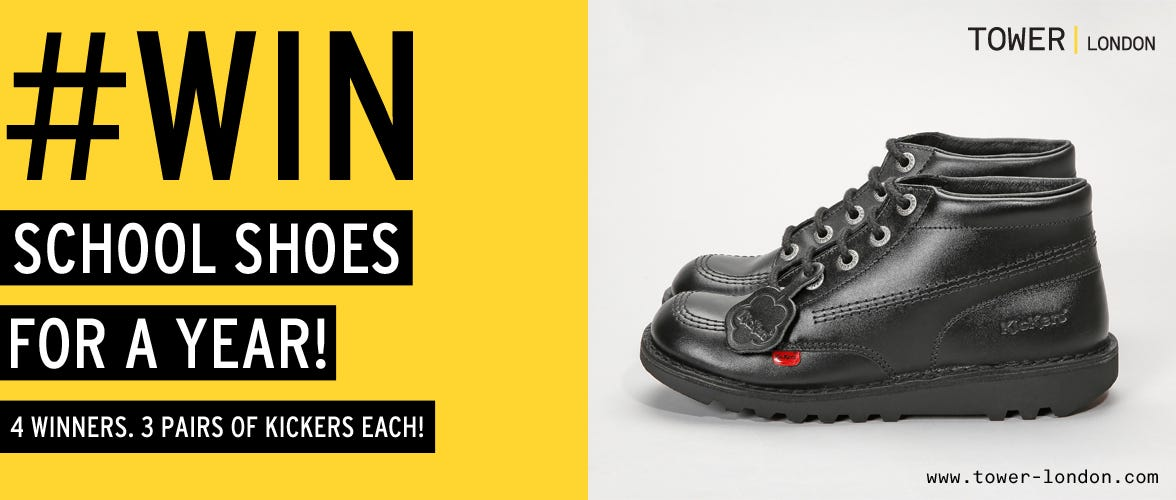 Win Kickers School Shoes for a Year