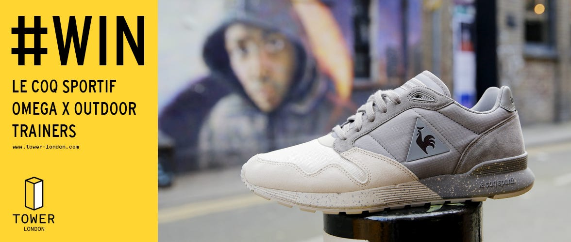 Win a Pair of Le Coq Sportif Omega X Outdoor Trainers