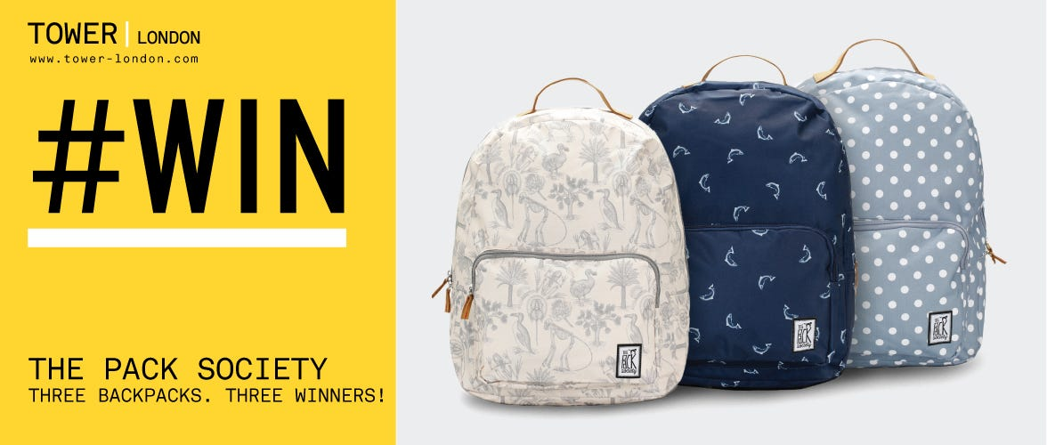 Win The Pack Society Backpacks