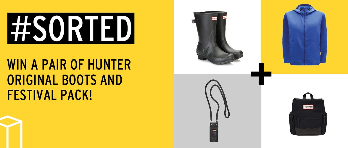 Win Hunter Original Boots and Festival Pack