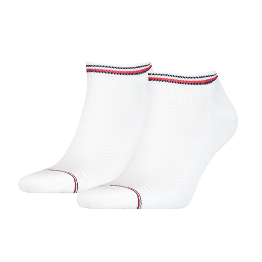 Tommy Hilfiger Iconic Sneaker 2 Pack Socks White