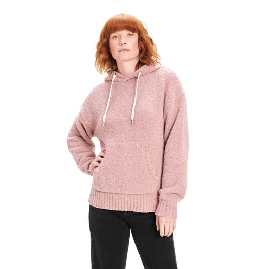 UGG Asala Womens Dusty Rose Hoodie