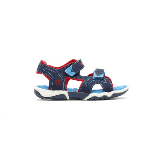 Timberland Toddlers Navy/Blue/Red Adventure Seeker 2-Strap Sandals