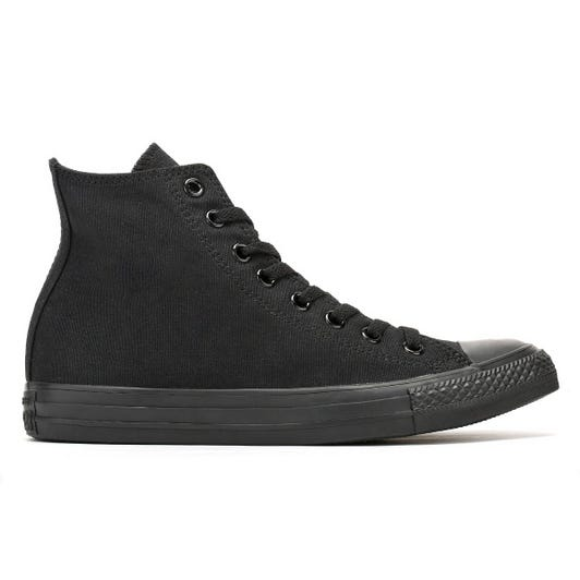 Converse All Star Hi Mens Black Trainers