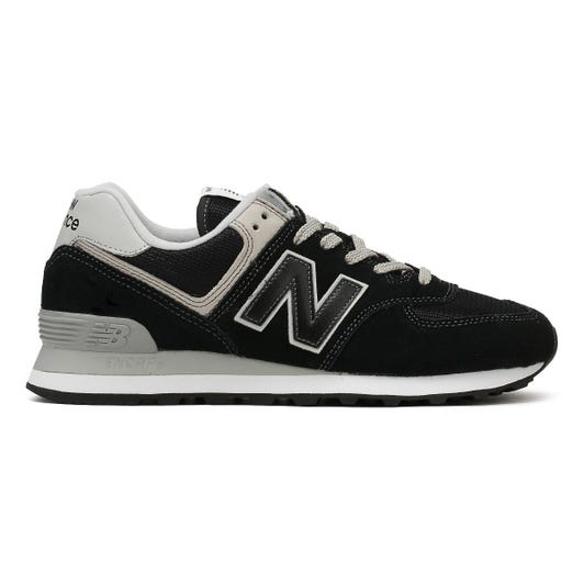 New Balance Mens Black ML574 Trainers