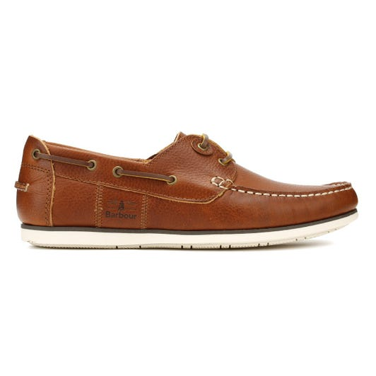 Barbour Mens Cognac Capstan Boat Shoes