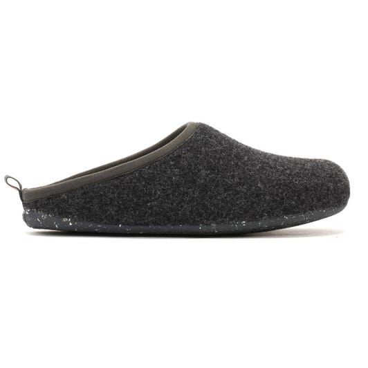 Camper Wabi Mens Dark Grey Slippers