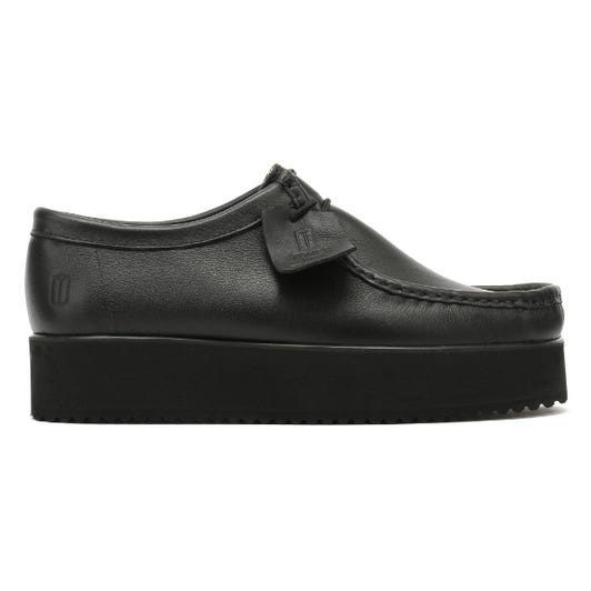 TOWER London Apache Womens Black Shoes