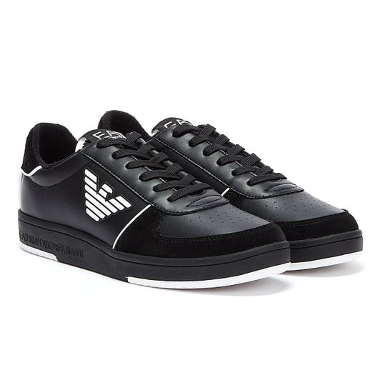 Emporio Armani EA7 New Millennium Mens Black Trainers