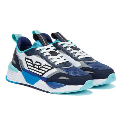 Emporio Armani EA7 Ace Runner Mens Blue / Navy Trainers