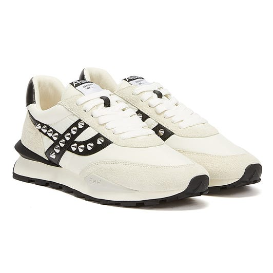 Ash Spider Studs Womens Off White / Black Trainers