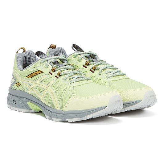 Asics Gel Venture 7 Mens Lime Green / Yellow Trainers