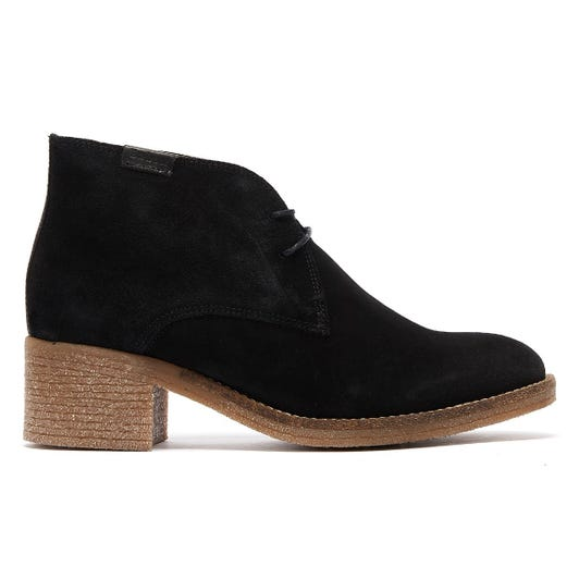 Barbour Edele Womens Black Suede Boots