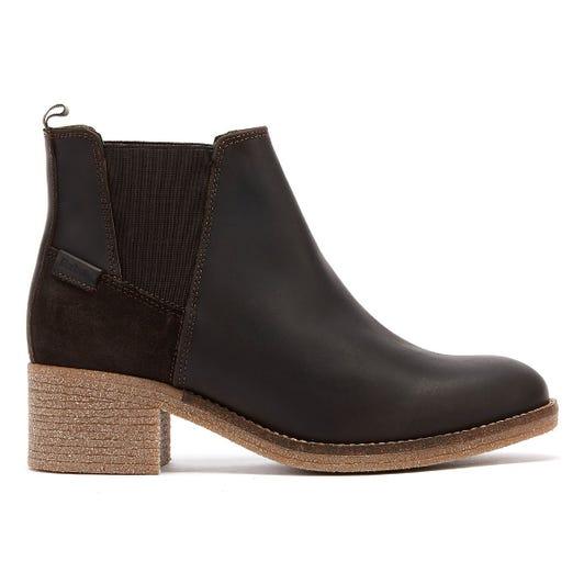 Barbour Keren Womens Brown Leather Boots