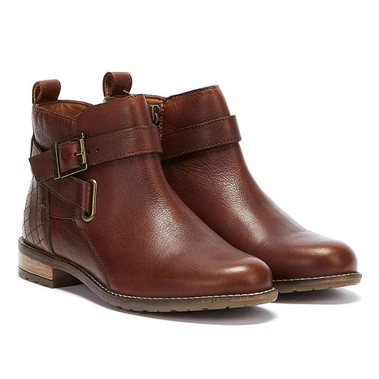 Barbour Jane Suede Womens Brown Boots
