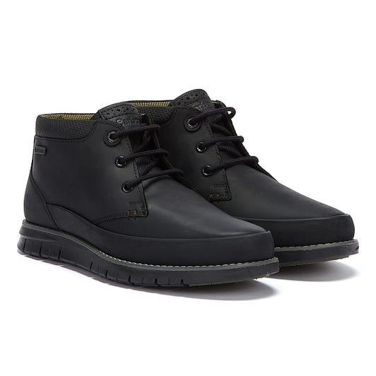 Barbour Nelson Mens All Black Boots