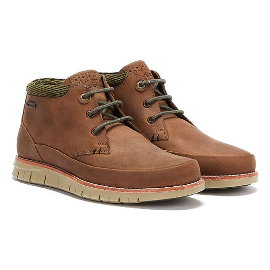 Barbour Nelson Mens Choco Brown Boots