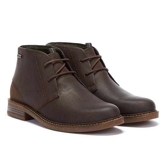 Barbour Readhead Suede Mens Dark Brown Boots