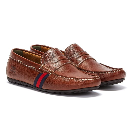Barbour Moss Mens Cognac Shoes