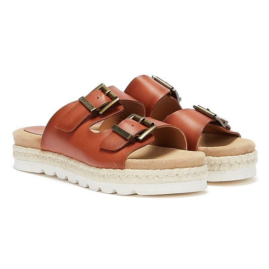 Barbour Lola Womens Brown Sandals
