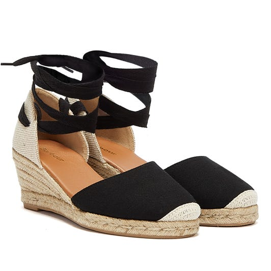 Barbour Amara Womens Black Wedges