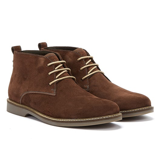 Barbour Consett Mens Timber Boots