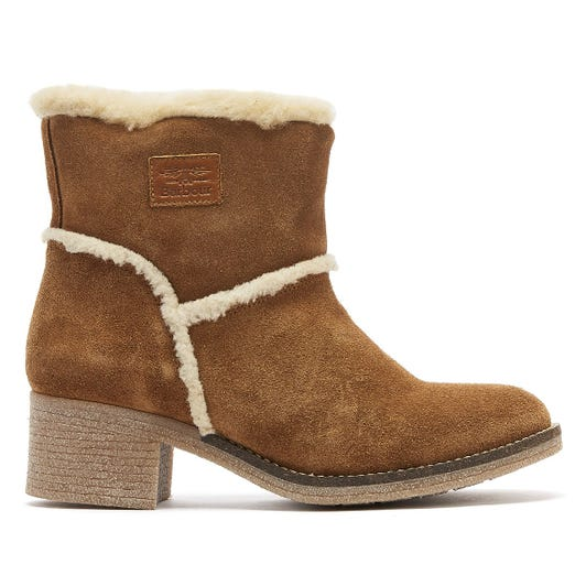 Barbour Frankie Womens Brown Boots