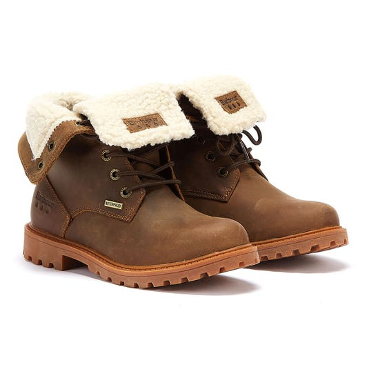 Barbour Hamsterly Womens Brown Boots