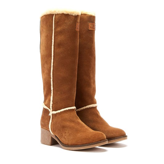 Barbour Molly High Womens Brown Boots