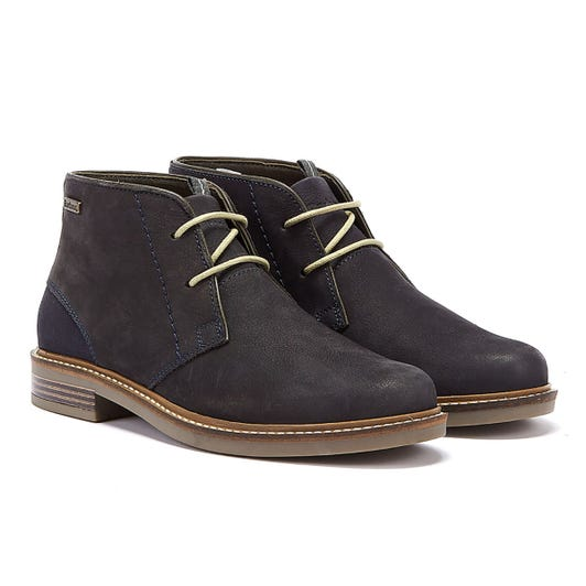 Barbour Readhead Mens Navy Boots