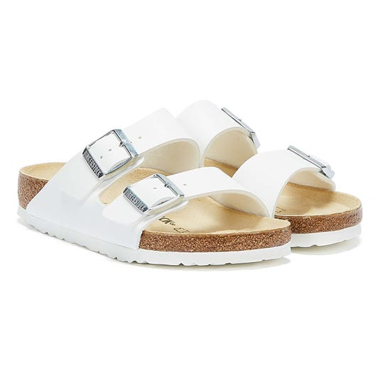Birkenstock Arizona Birko-Flor White Sandals