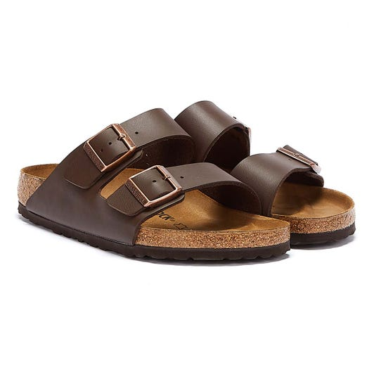 Birkenstock Brown Arizona Birko-Flor Sandals