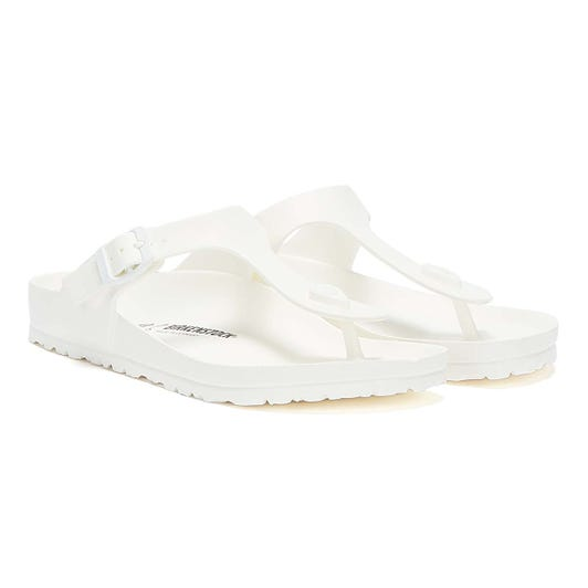 Birkenstock Gizeh EVA Womens White Sandals