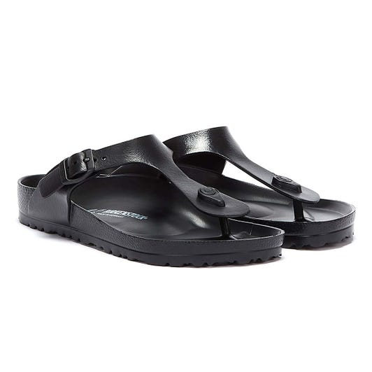 Birkenstock Womens Black Gizeh EVA Sandals