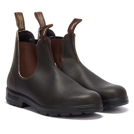 Blundstone 500 Stout Brown Boots