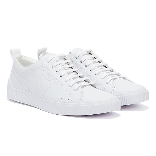HUGO Zero Tenn Mens White Trainers