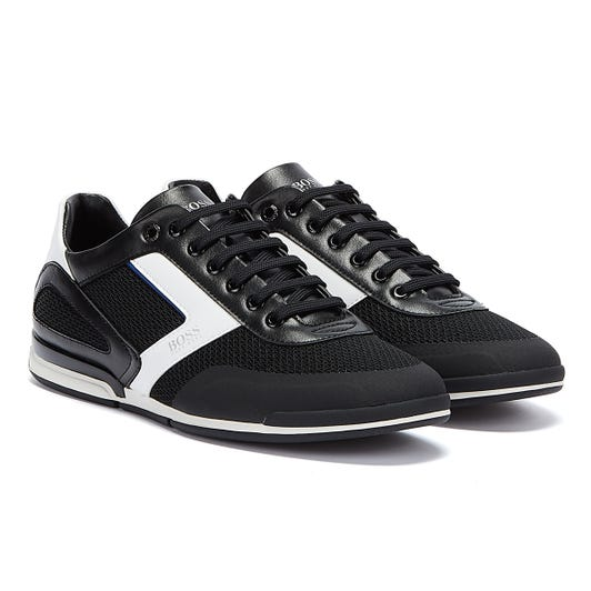 BOSS Saturn Hybrid Low Mens Black Trainers