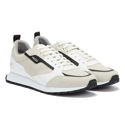 HUGO Icelin Runn Mens White / Black Trainers