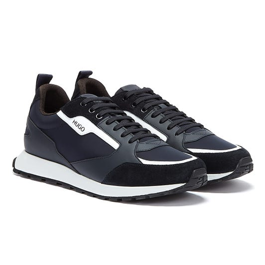 HUGO Icelin Runn Mens Navy / White Trainers