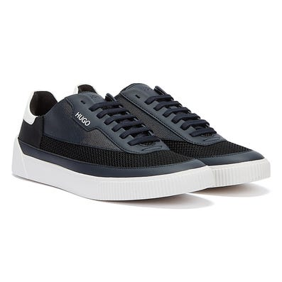 HUGO Zero Tenn Mens Navy / Black Trainers