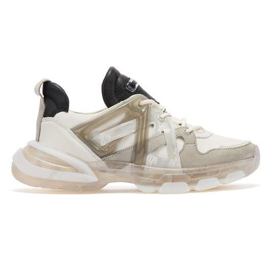 Bronx Seventy-Street Womens Off White / Grey / Black Trainers