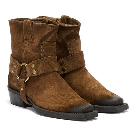 Bronx No Scene Womens Brown Boots