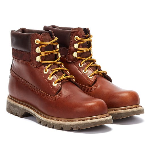Caterpillar Colorado Lux Mens Brown Boots