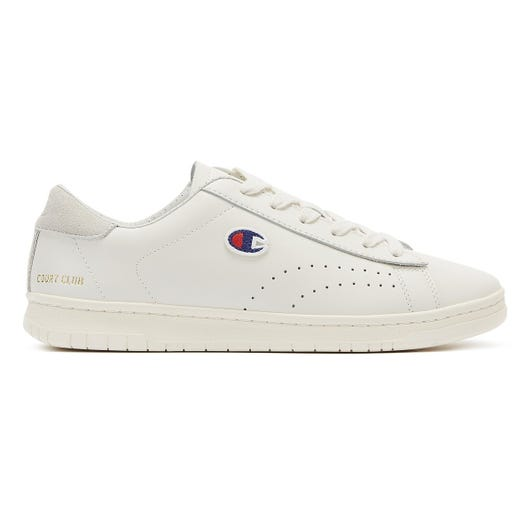 Champion Court Club Low Mens White Trainers