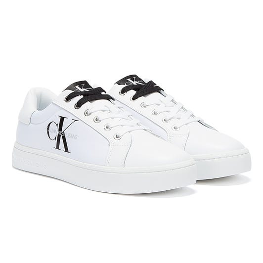 Calvin Klein Jeans Cupsole Mens White Trainers