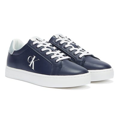 Calvin Klein Jeans Cupsole Lace Up Mens Navy Trainers