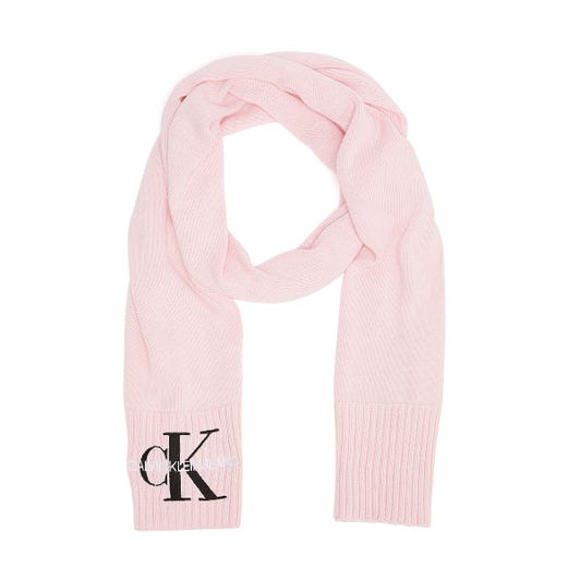 Calvin Klein Jeans Knitted Basic Womens Blossom Scarf
