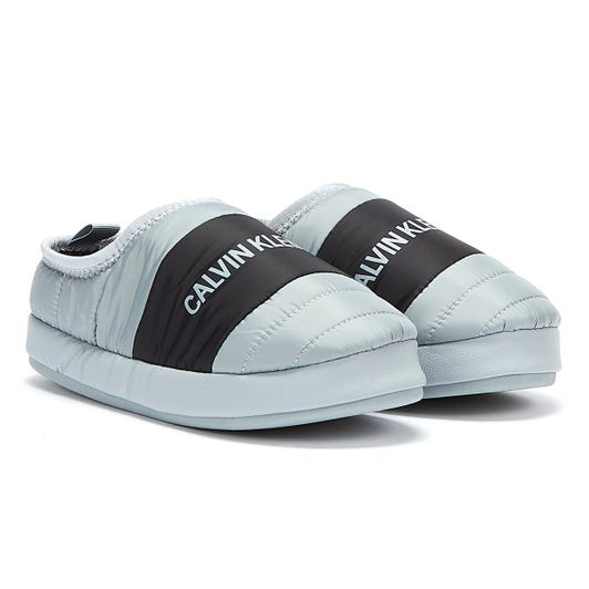Calvin Klein Jeans Home Shoe Mens Marble Grey Slippers
